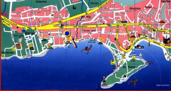 Makarska Map
